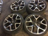 Vxr 20 inch alloys with tyres