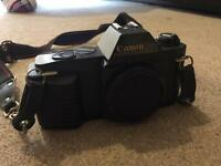 Canon T50 manual camera