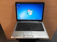 Toshiba Fast Laptop, 160GB, 3GB Ram, Dual-Core (Kodi) Win 7, Microsoft office, Good Condition
