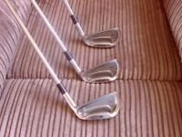 Mizuno Mx23 3,4 and 5 iron regular shafts vgc