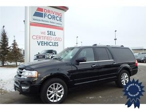2016 Ford Expedition Max Limited 8 Passenger, 9,409 KMs, 3.5L V6