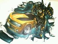 Mural,graffiti,airbrush,abstract ,workshops and more ,get in touch!