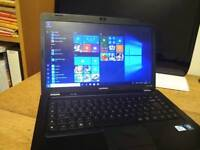 "Compaq Presario Cq56 laptop 15.6"" ,Windows 10, 3gb Ram, new screen and new keyboard, Ms office"