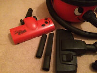 Henry 'Extra' Hoover good condition, loads of additional tools