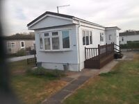 MOBILE HOME ON Residential Park near Brentwood Essex NO AGE RESTRICTION.