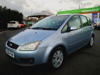 FORD C-MAX IN CLEAN CONDITION. 1 YEAR MOT. HPI CLEAR. ALL PREVIOUS MOT AVAILABLE.