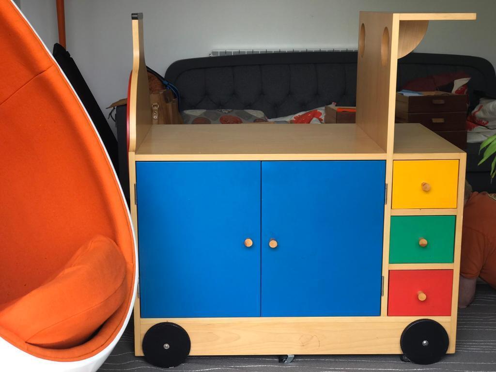 Harrods baby changing unit children's storage unit £499 originally