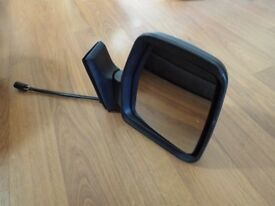 Drivers side Citroen van mirror