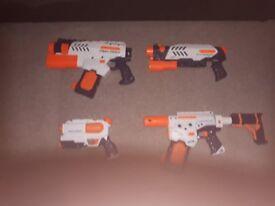 Nerf guns water pistols
