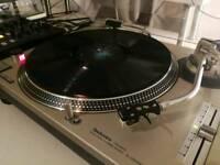 Pair of technics 1200 mkII