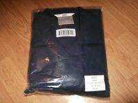 """job lot boiler suits/overalls in bottle green, navy blue and medium blue 46"""" chest, 40"""" waist"""