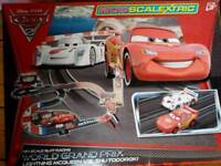 Cars scalextric set