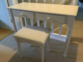 Small desk or dressing table ideal for a child's bedroom.