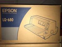 Brand new Epson LQ-680 printer