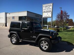 2011 Jeep Wrangler Sport 4 x 4 ~ Clean Car Proof ~ Low Kms ~