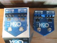 Visual Sound H2O v2 Pedal Chorus and delay (Boxed as new)