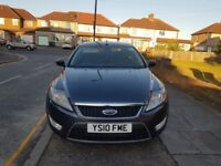 FORD MONDEO 2010 DIESEL AUTOMATIC STARTS AND DRIVES MOT AND TAXED VERY CHEAP QUICK SALE £1250