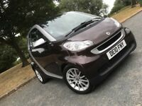 SMART CAR FORTWO HIGHSTYLE LEATHER SATNAV LOADED MEGA SPEC CAR SUB LOW MILES BLUETOOTH £20 TAX MHD