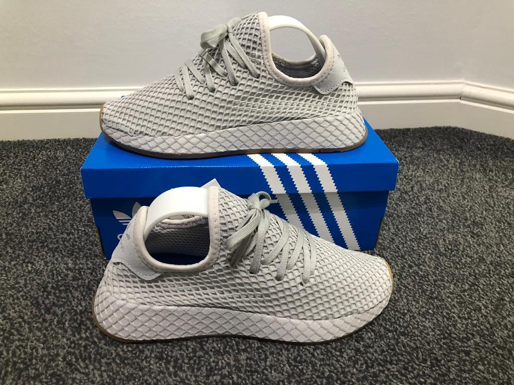 6430910fc Adidas Originals Deerupt Trainers in Grey size 4 UK