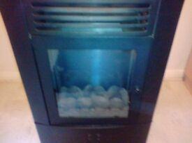 Modern gas heater
