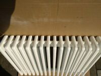 designer radiator, traditional cast iron type. myson 16 x 4 column , 800mm x 600mm.