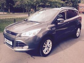 Top of the Range Ford Kuga Titanium X Powershift 4x4 163 TDCI 2.0 2014