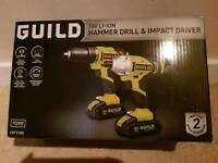 Guild Hammer Drill and Impact Driver