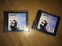 50x DVD / CD Cases Jewel