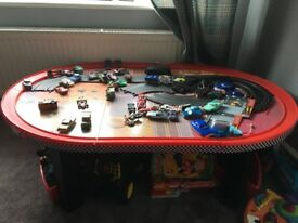 Disney cars table storage