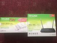TP-LINK AC1200 cable router & powerline adapters