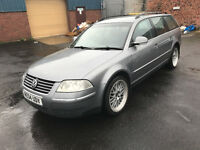 Volkswagen Passat 1.9 TDI PD Highline 5dr Estate - 2004, Fully Loaded, 11 Months MOT, Heated Leather