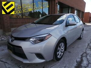 2015 Toyota Corolla LE Back up cam, heated seats, heated mirrors
