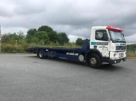 Volvo fm7 18 ton recovery truck 2001 y
