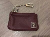 Genuine leather porter international coin purse