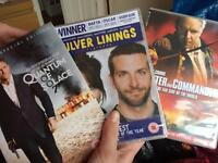 Three great films. One unopened!