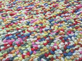 Bright Multi-Coloured John Lewis Jelly Bean Large Rug 150cm x 90cm