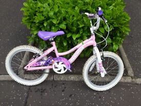 Magna Princess pink 18 inch girls bike