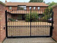 Grills, metal gate, metal door