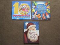 3 Brand New Polish Story Books for Young Children - 3 for £5.00