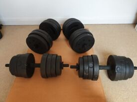 Dumbbell Set - 45KG Total
