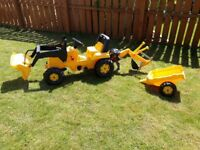 Kids Tractor / Digger