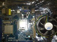 intel dual core e5800 3.2ghz cpu and stock fan