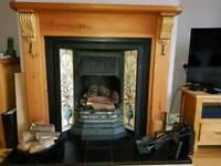 Fireplace & wood surround
