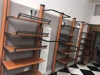QUALITY ITALIAN SHOP/RETAIL FITTINGS FOR DESIGNER STORE