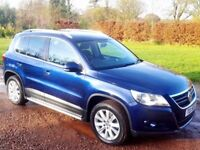 2010 VW Tiguan 2.0 Tdi SE 4-Motion Auto *4x4* Low Miles (not kuga golf a4 q5 q3 x3 x1 sportage