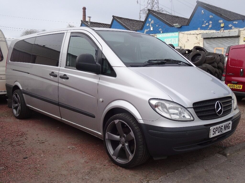 1 owner 06 plate mercedes vito w639 traveliner 9 seater for Mercedes benz vito for sale