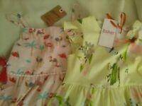 Girls dresses X 2 Ted Baker Jersey dress + Mantaray camel print dress WILL POST