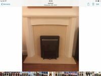 Fire surround and mantlepiece