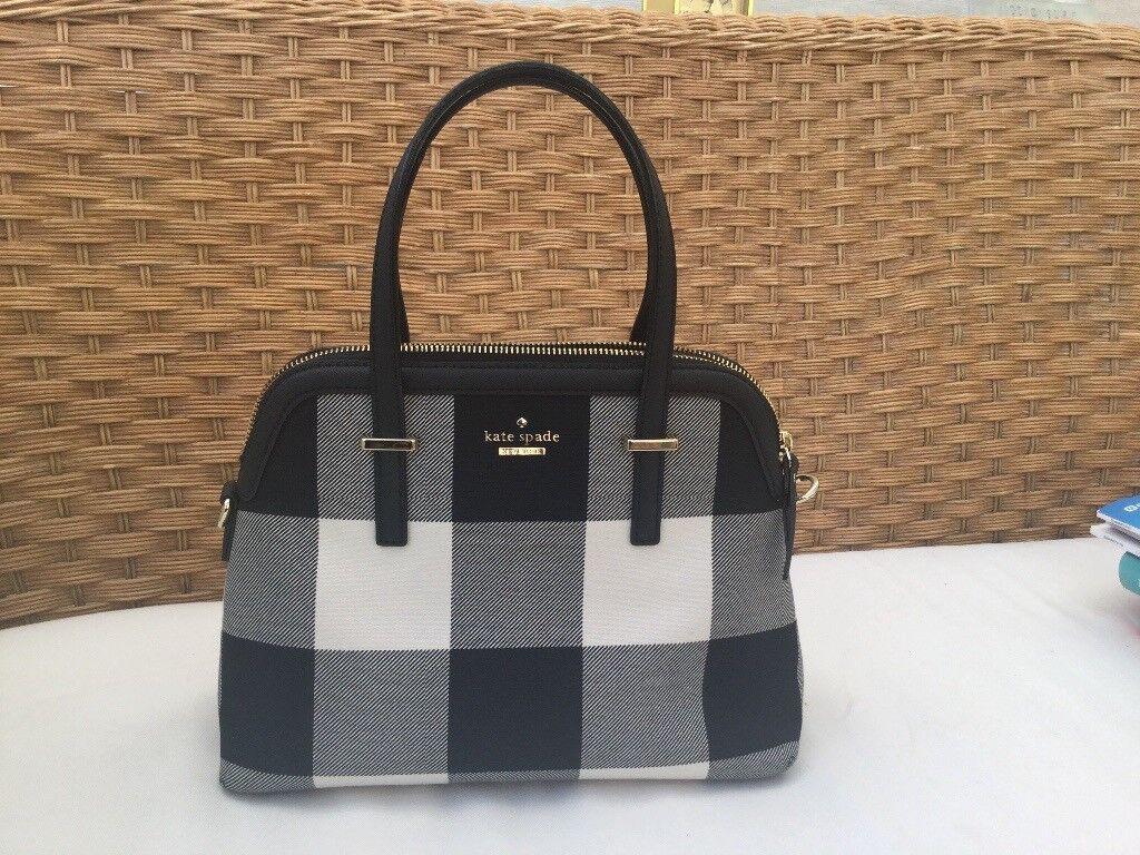 Kate Spade New York Cedar Street Maise Plaid Handbag In Craigleith Katespade