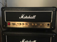 Mashall DSL15H 15 watt amp head for sale. 4 months old mint condition with channel foot switch.
